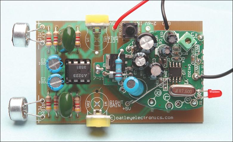 Electronic Hobby Circuits Wireless Microphone Circuit Diagram