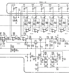schematic diagram of ge 7b bass equalizer pedal [ 1190 x 841 Pixel ]