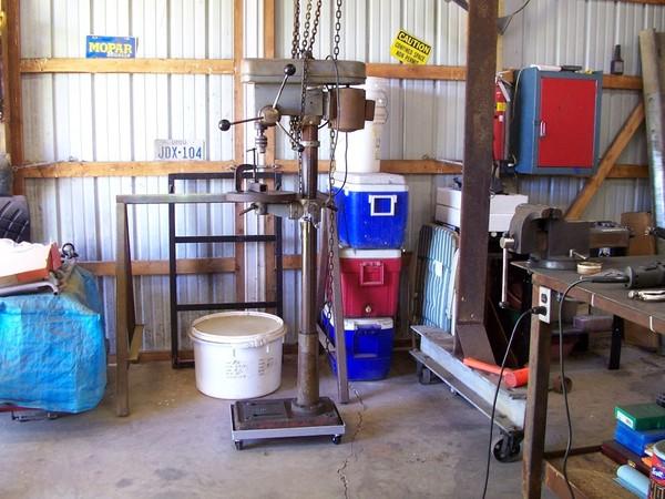 Cal Hawk Drill Press