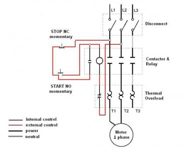 Can you use a 3 phase on/off switch with single phase