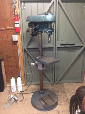 Antique Drill Press Value