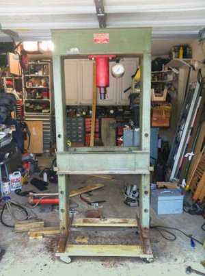 Carolina Tool And Equipment 50 Ton Press
