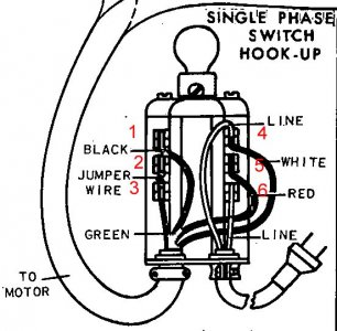 Reversing Drum Switch Wiring Diagram. Reversing. Wiring
