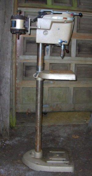 Craftsman 150 Drill Press Restoration