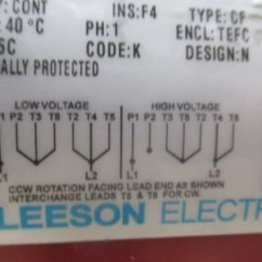 Leeson Electric Wiring Diagram Standard Thermostat [how Do I?] - Up Single Phase 220v Drum Switch To Motor On My Bridgeport | The Hobby ...