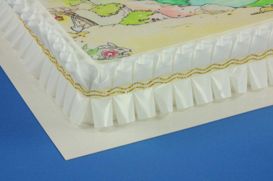 Pappunterlagen beschichtet rechteckig 42x32cm 10 Stck