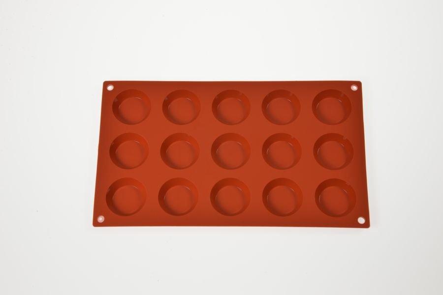 Florentiner Backform fr 15 Miniflorentiner 45 cm Silikon
