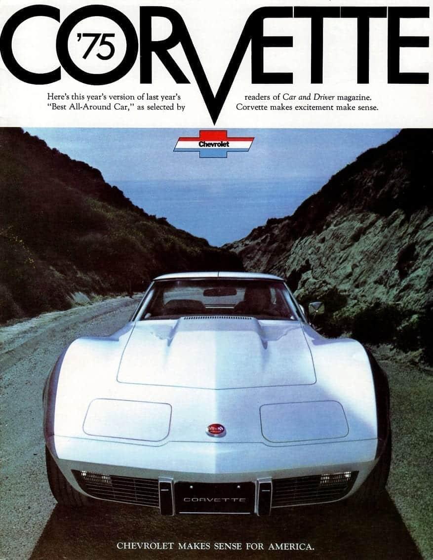 hight resolution of 1975 corvette original advertisement