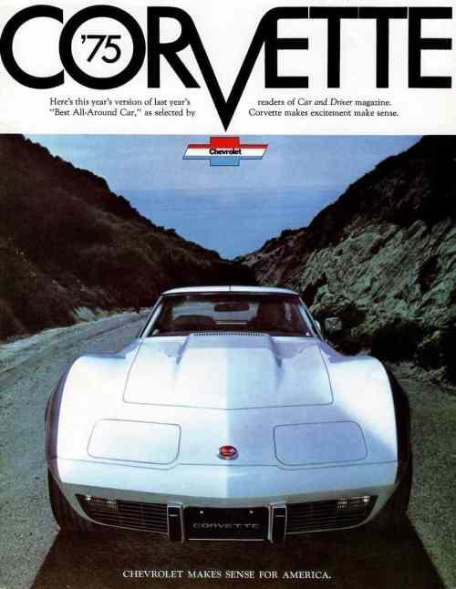 small resolution of 1975 corvette original advertisement