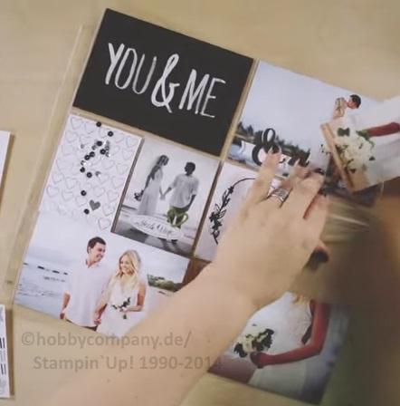 Stampin Up Hochzeitsalbum