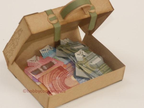 Koffer fr Geldgeschenke meine Anleitung fr eine Verpackung