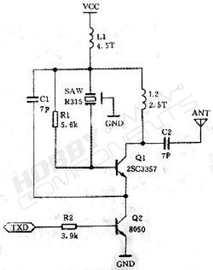 2 Sets 433Mhz RF Transmitter Module and Receiver Link Kit