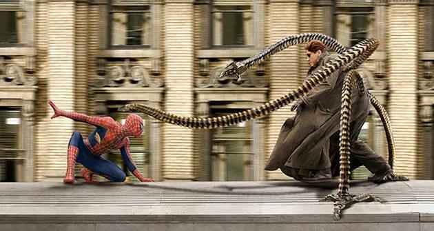 Resultado de imagen de spiderman 2 2004 octopus
