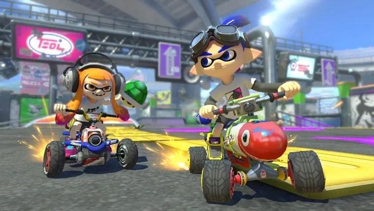 Resultado de imagen de Mario Kart 8 Deluxe