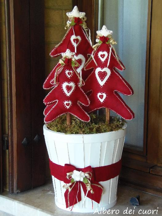Natale Trees with heart di S Trevisan  Hobbydonnait