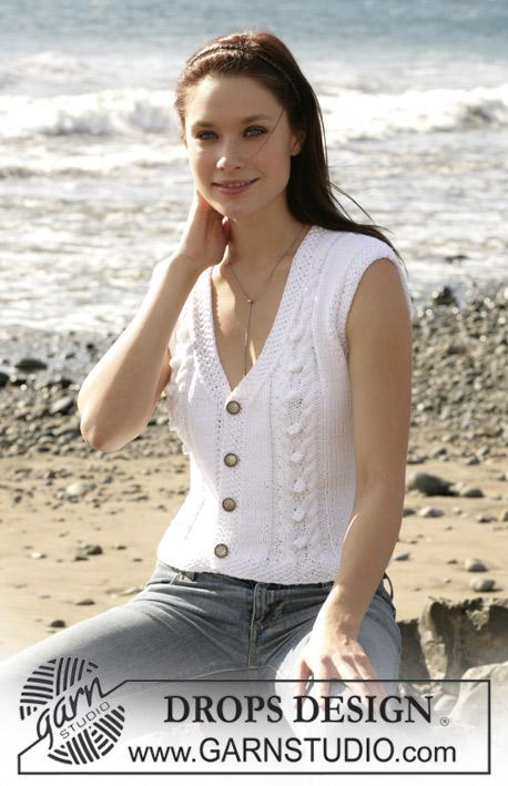 Breipatroon Vest met korte mouw