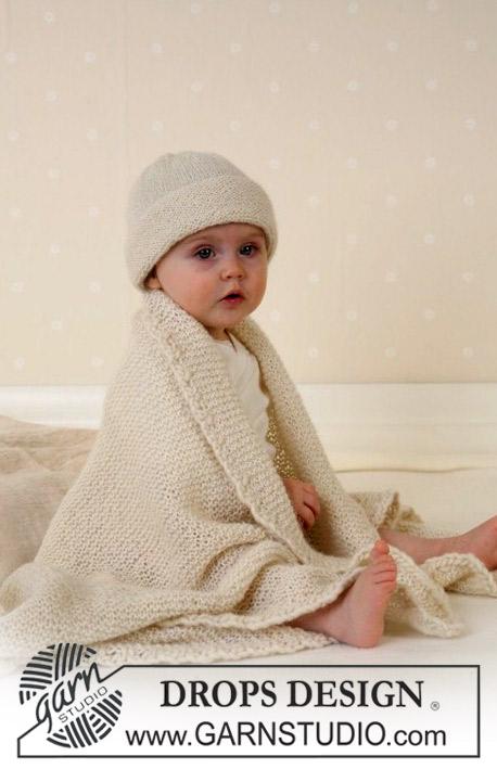 Breipatroon en haakpatroon Muts en deken