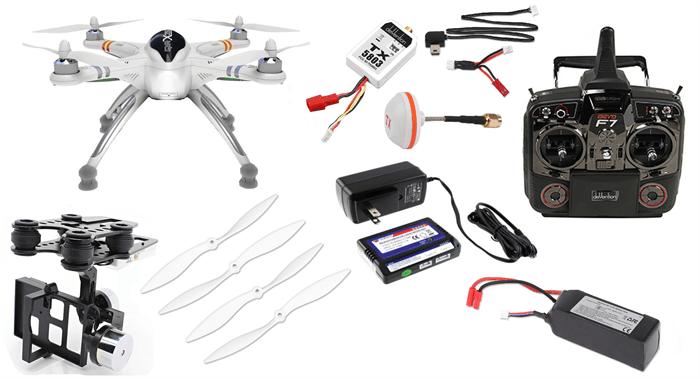 Walkera QR X350 PRO RTF GoPro Drone w/ G-2D Gimbal & Devo