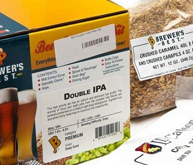 Amber Classic 5 gallon Home Brew Ingredient Kit Brewer/'s/Best/® 1013 American Pale ale Package