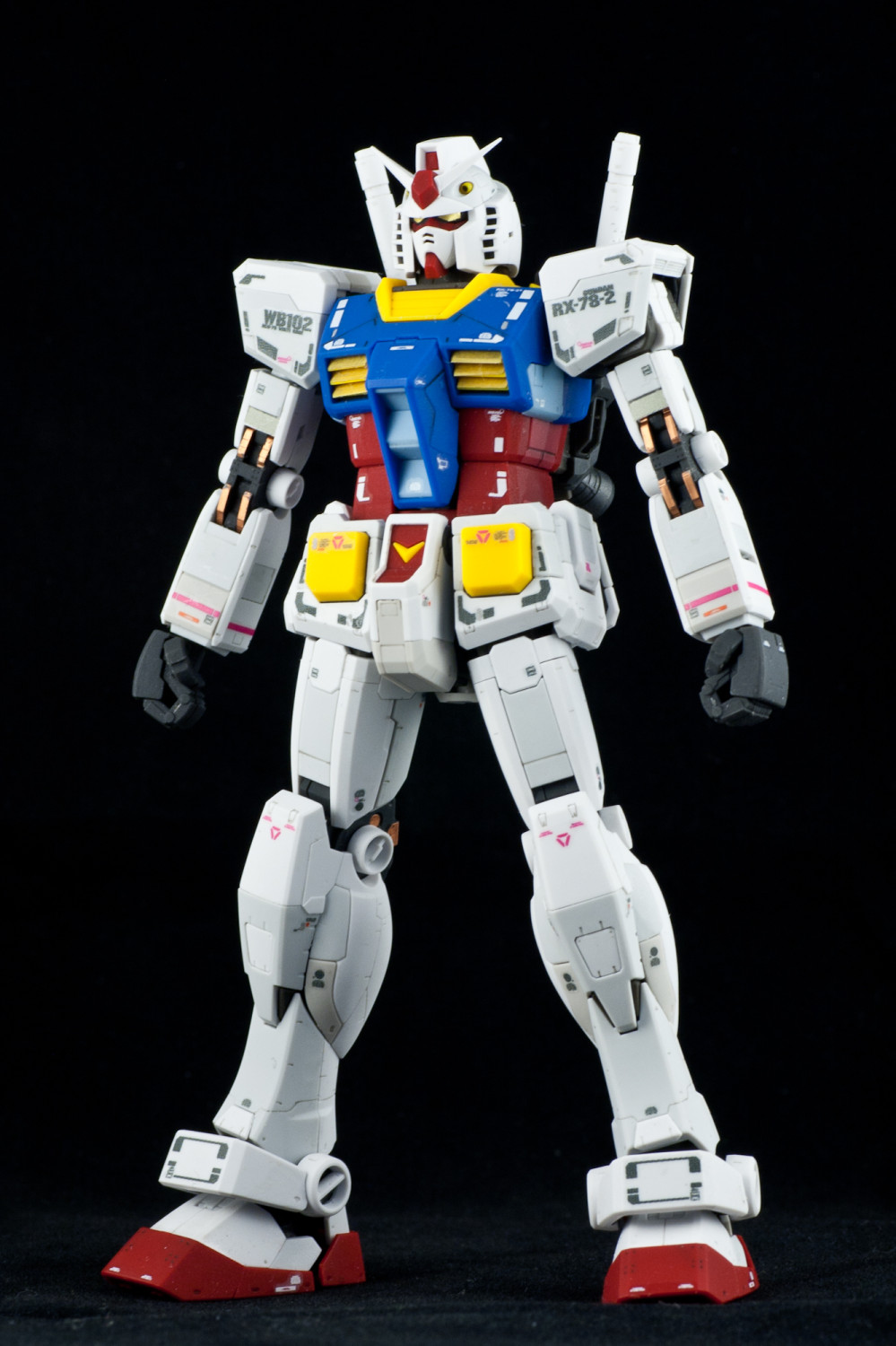 Review Real Grade RX782 Gundam  Hobby Hovel