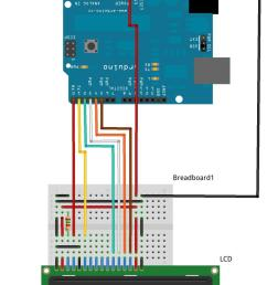 lcd pinout and getting it going with the arduino hobbyist co nz subwoofer wiring diagrams [ 785 x 1200 Pixel ]
