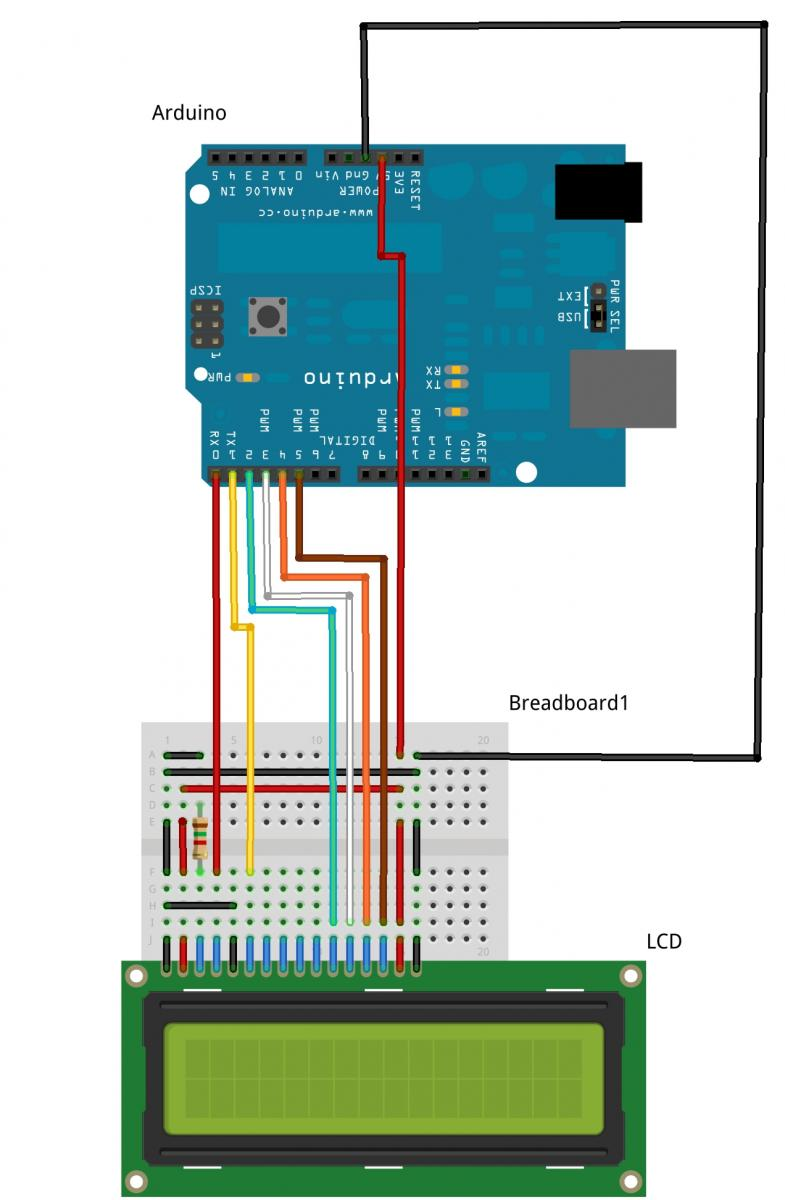 medium resolution of lcd pinout and getting it going with the arduino hobbyist co nz subwoofer wiring diagrams