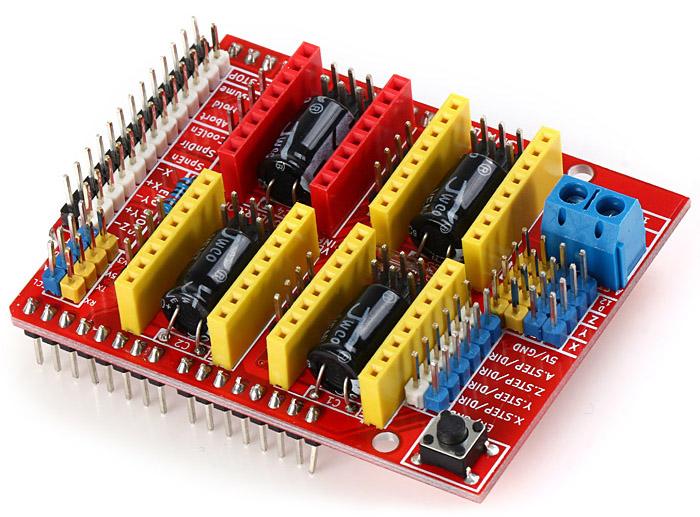 Arduino CNC shield  Hobbyistconz