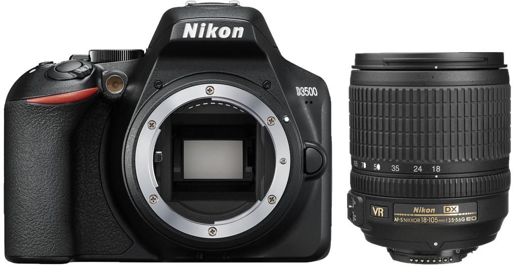 geschikte starters camera nikon d3500