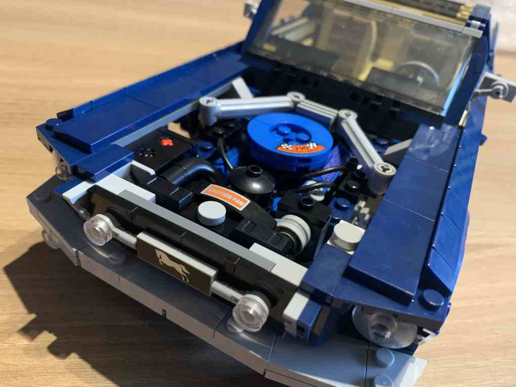 Lepin Ford mustang review part 5