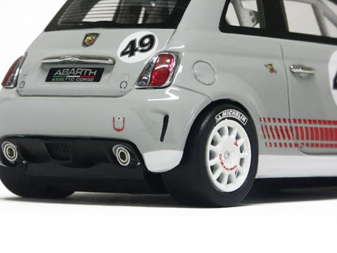 Racer slot cars fiat 500 abarth con assetto da corsa for Modelli 500 abarth