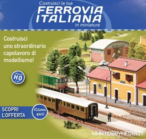 costruisci la tua ferrovia italiana in miniatura nuova