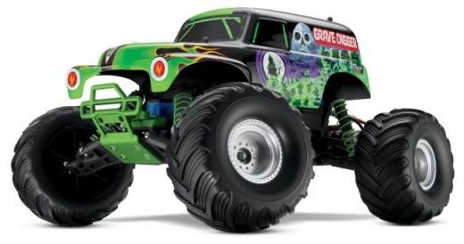 monster jam  arrivano gli automodelli della traxxas grave