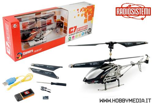 Aereo O Elicottero Radiocomandato : Elicottero radiocomandato con telecamera c spy helicopter