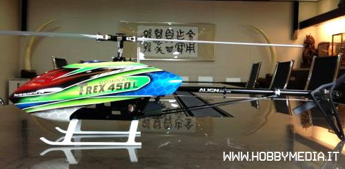 Elicottero T Rex 500 : Align t rex l nuovo elicottero per volo acrobatico d