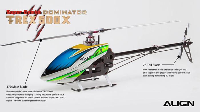 Align-T-REX-500X-Dominator-Combo-