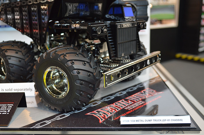 Tamiya-metal-dump-truck-toy-fair-2017 3