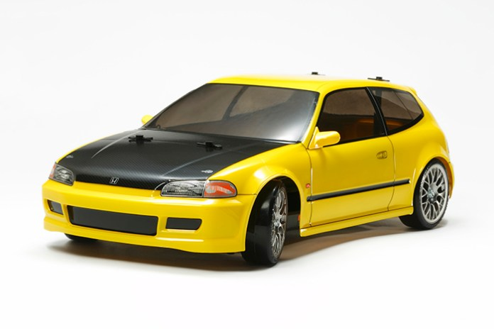 tamiya HONDA CIVIC SiR RC kit