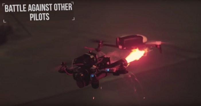 droneclash competizione distruggi droni