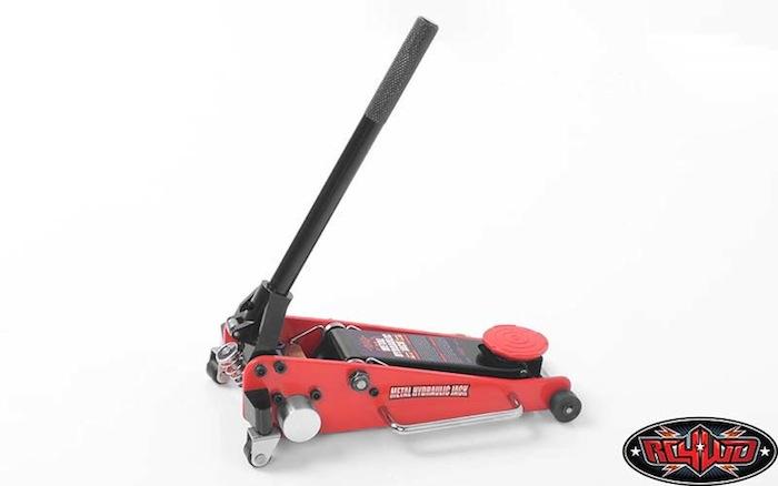 RC4WD Metal Hydraulic Jack cric a carrello idraulico per scaler