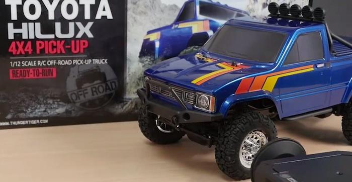 Toyota Hilux- nuova replica della Thunder Tiger