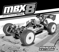 Mugen MBX8 - Manuale istruzioni e parti opzionali
