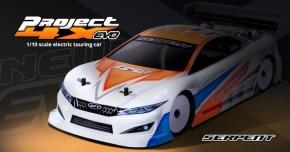 Serpent Project 4X EVO: touring car da competizione