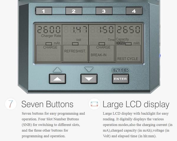 Caricabatterie/analizzatore NC2600 Bluetooth 220V della SKYRC