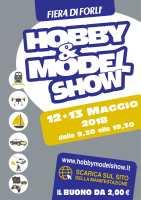 Hobby & Model Show alla fiera di Forlì il 12 e 13 maggio