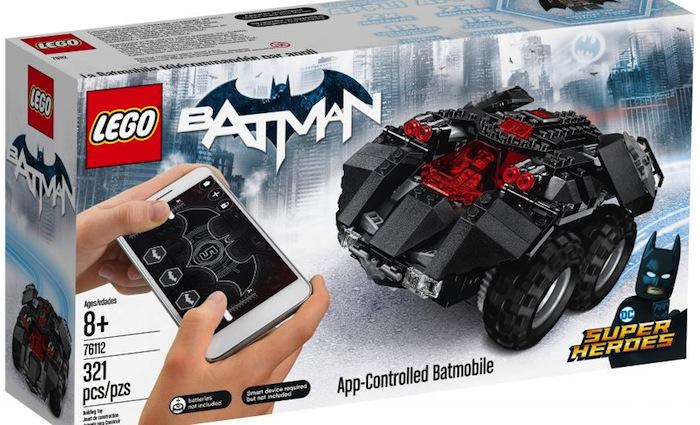 LEGO Batmobile radiocomandata via App - LEGO DC Super Heroes 76112