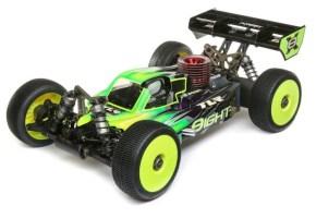 TLR 8IGHTX: video della nuova buggy in scala 1/8