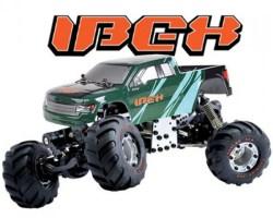 IBEX: Mini Crawler 4WD con quattro ruote sterzanti!