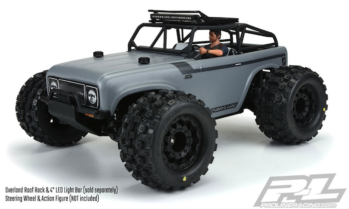 ProLine Ambush MT 4x4 con Trail Cage