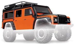 Traxxas TRX4: nuova carrozzeria Land Rover Defender