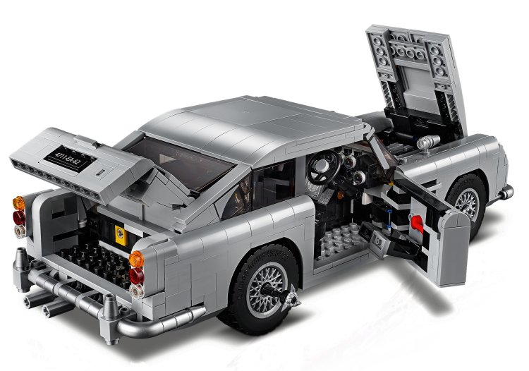 Aston Martin DB5 di James Bond LEGO Creator Expert